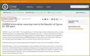 CNW post on cyprus - Artemis Sorras